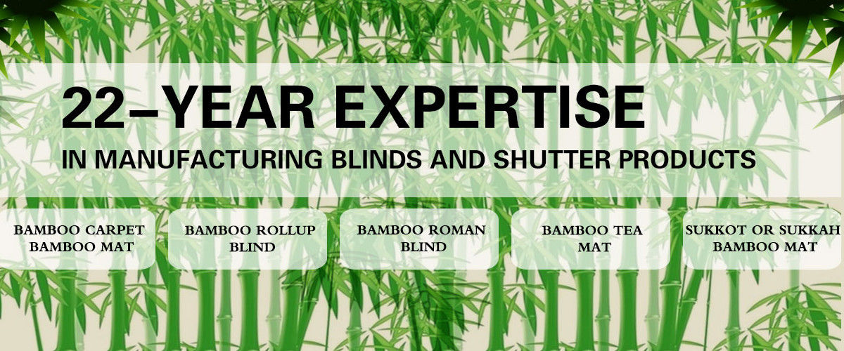 China best Natural Bamboo Blinds on sales