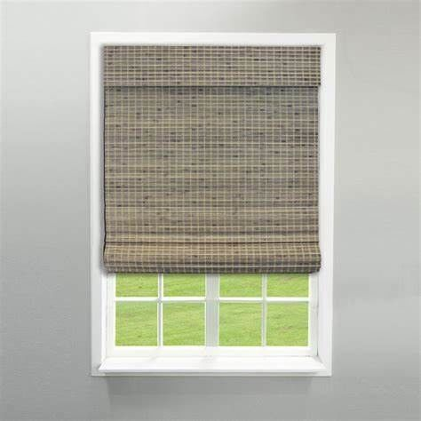Modern Pvc Window Blinds , Pvc Waterproof Roller Blinds Weaving With Raffia