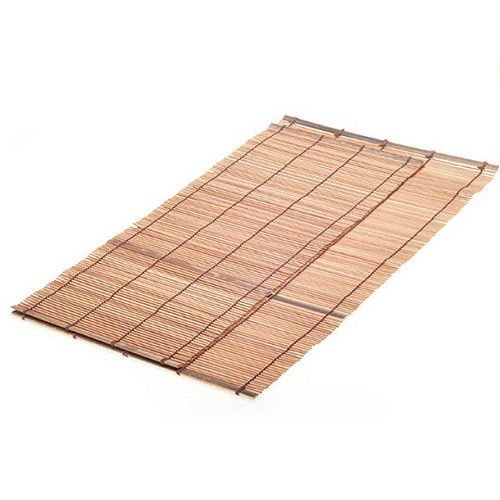 Smooth Surface Bamboo Schach Mat Dinner Table Use Customized Length
